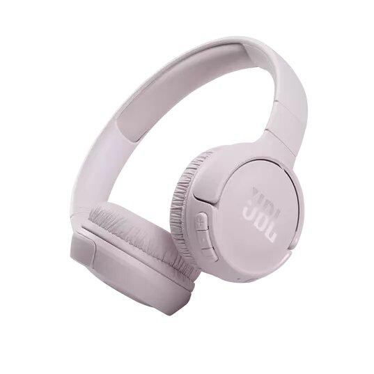 سماعة جي بي ال بلوتوث تون  510 بي تي  سماعة رأس  بلوتوث  ميكروفون مدمج -وردي