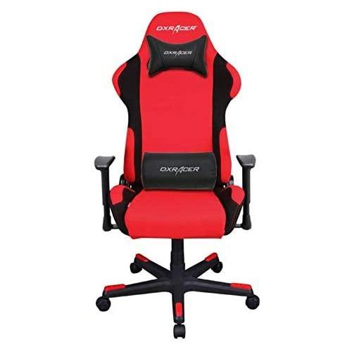 دي اكس ريسر - كرسي العاب سلسلة فورميولا - احمر