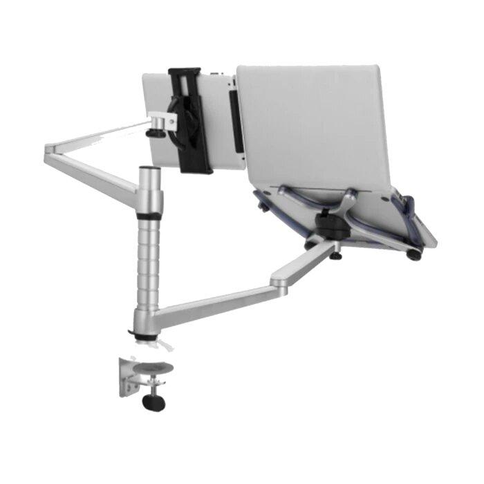 تويستد مايندز – ذراع حامل لسطح المكتب المزدوج (كمبيوتر محمول + كمبيوتر لوحي)