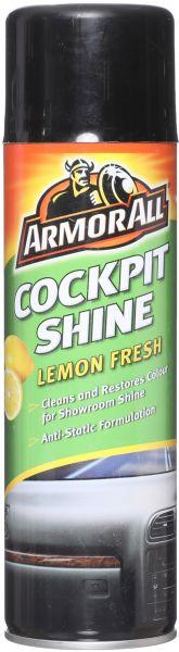 ملمع لتابلوه السيارة برائحة الليمون المنعش من ارمور اول - 500 مل