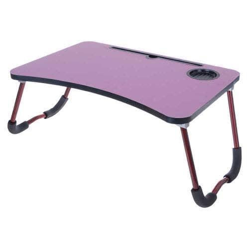 طاولة لابتوب قابله للطي ومزوده بمانع انزلاق