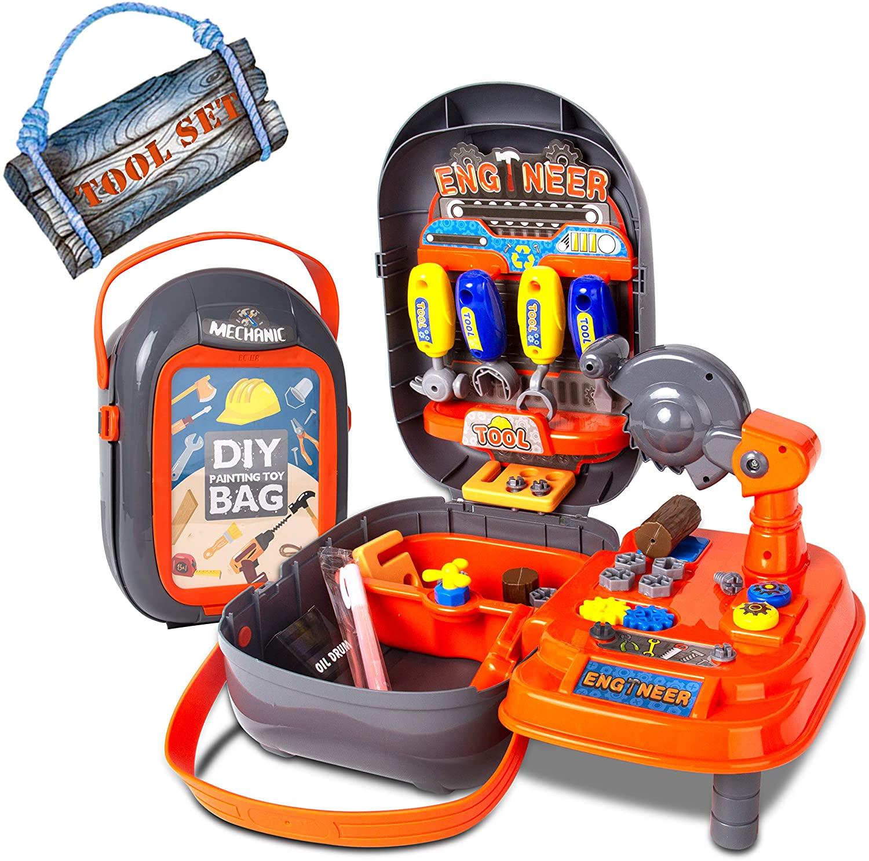 حقيبة لعبة الطلاء DIY - حقيبة أداة