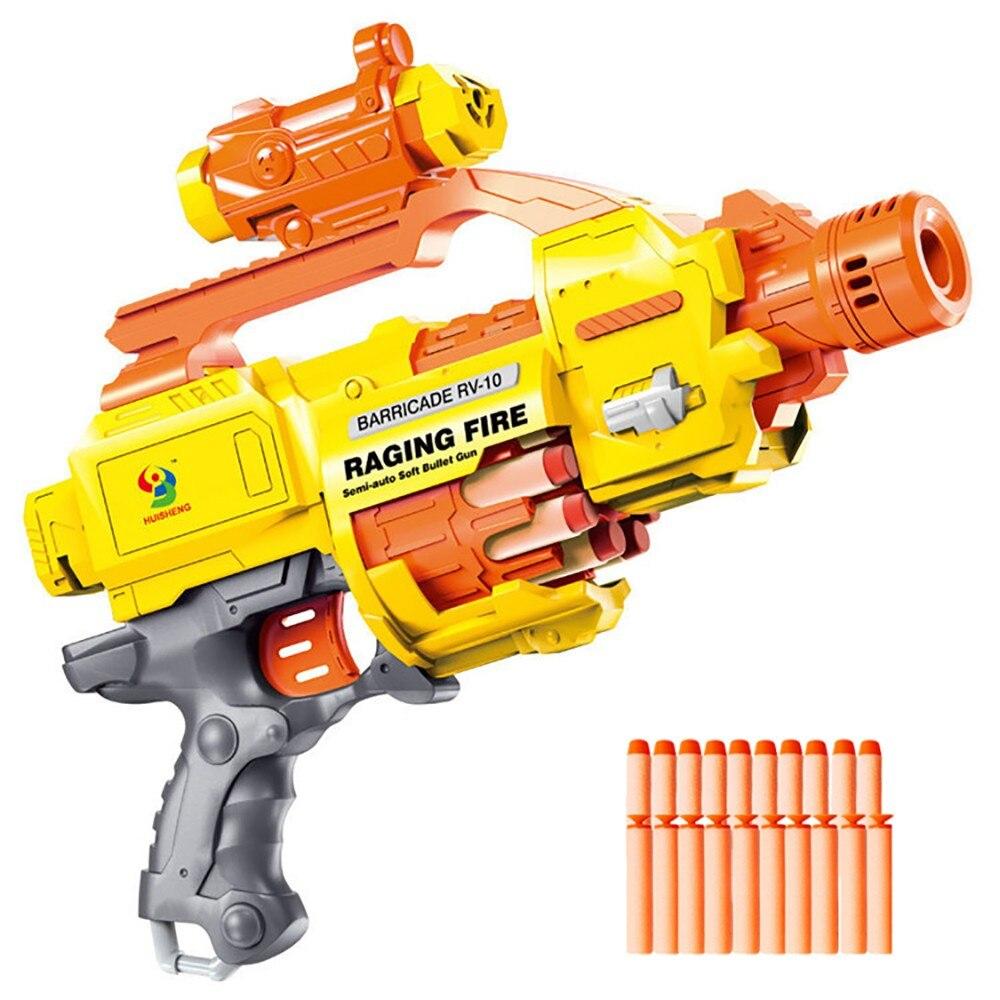 لعبة البنادق Nerf Raging Fire 7009 رصاصة طرية تلقائية