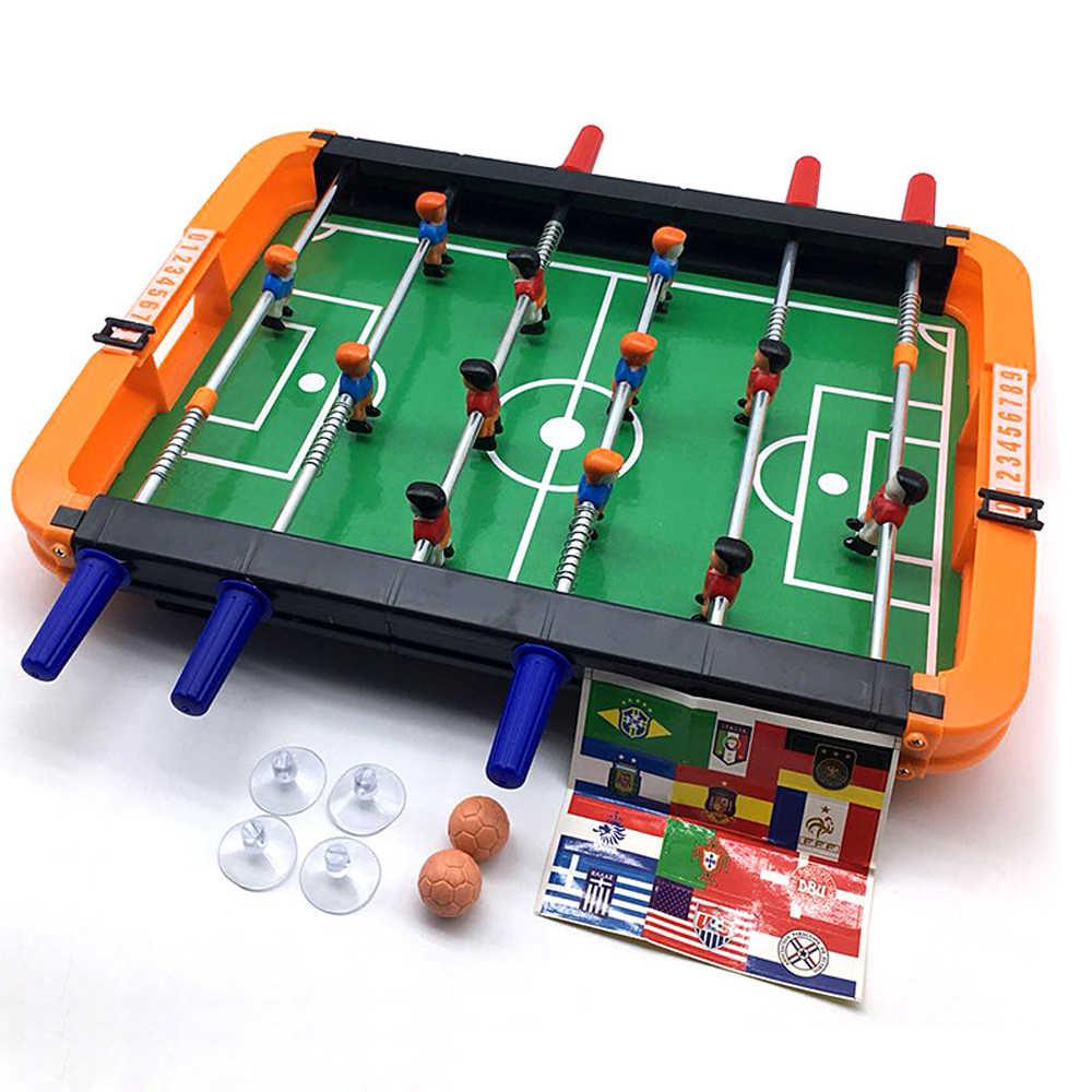 طاولة كرة قدم الطاولة - مجموعة ألعاب كرة قدم صغيرة محمولة للبالغين والأطفال