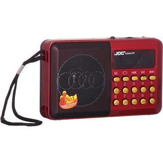 Joc Digital يختار مشغل الموسيقى - راديو FM - أحمر