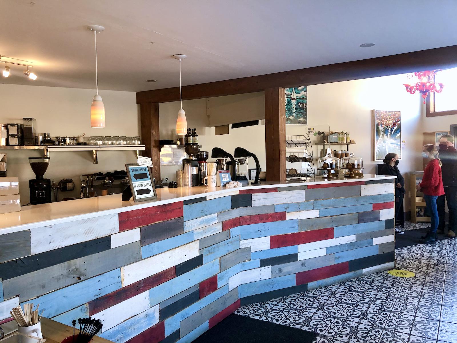 Inside Skip Stone Coffee