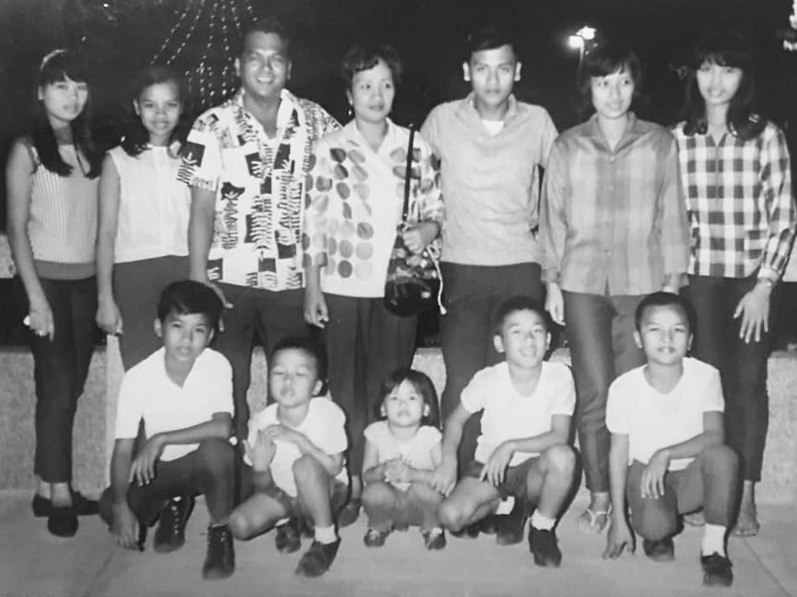 Ray Alfaro and siblings