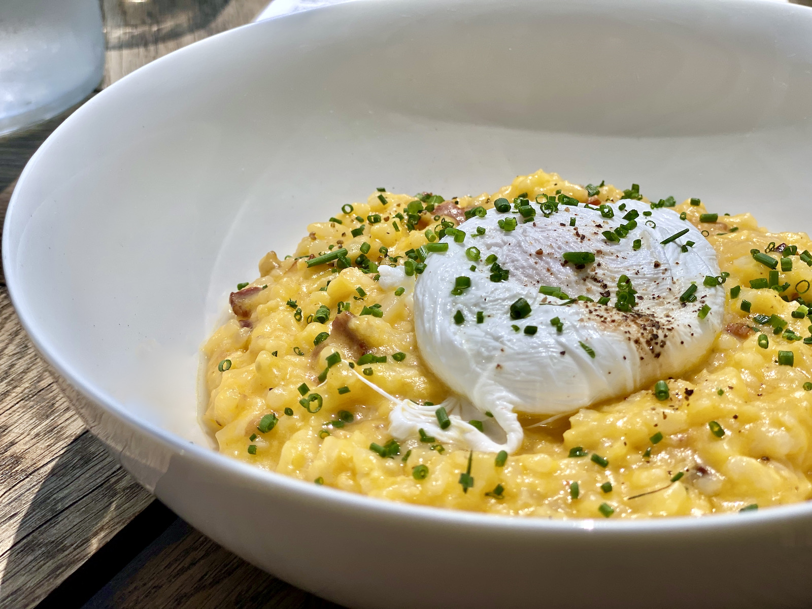 Brunch risotto