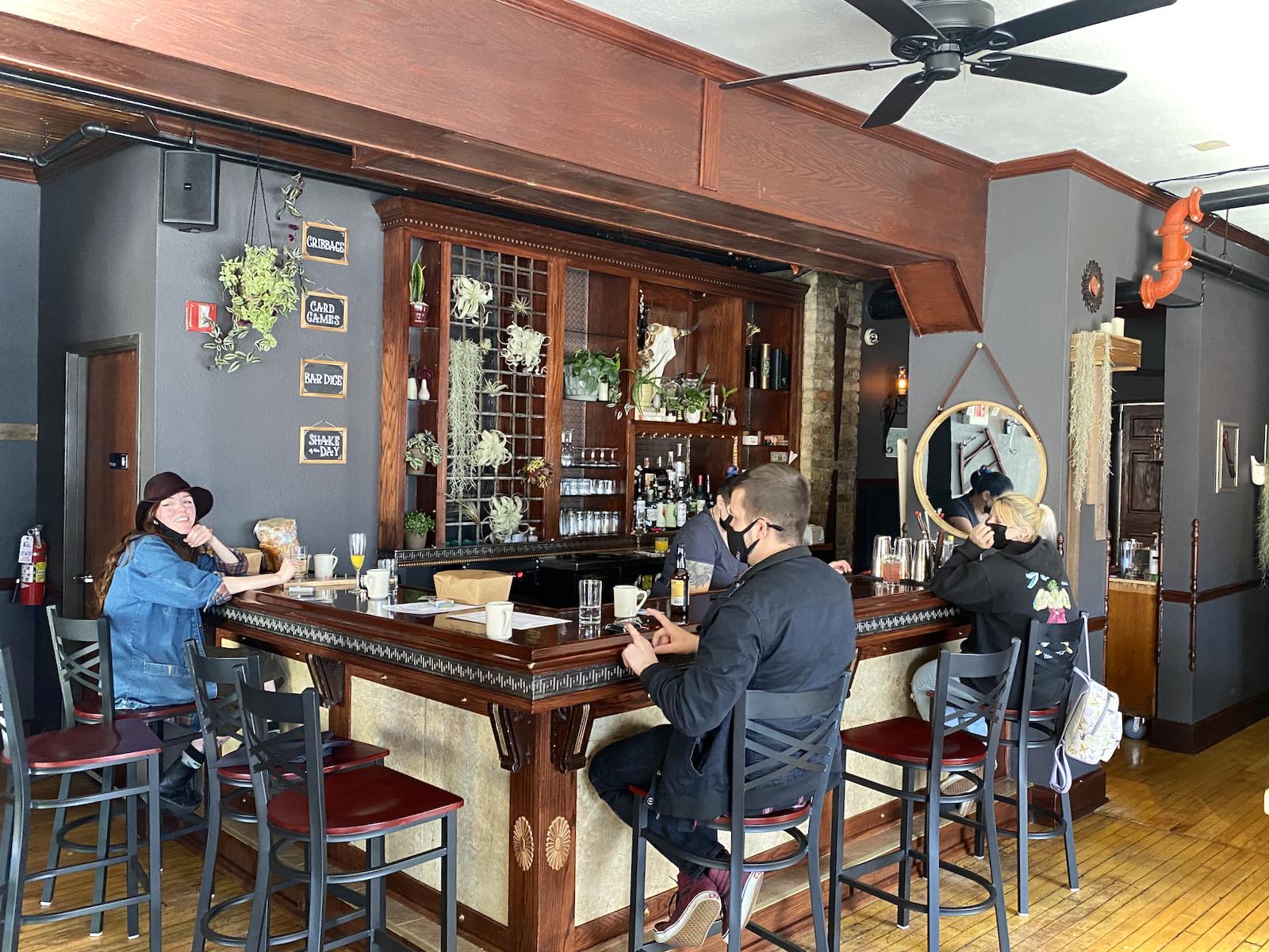 Bar at Blackwood Brothers