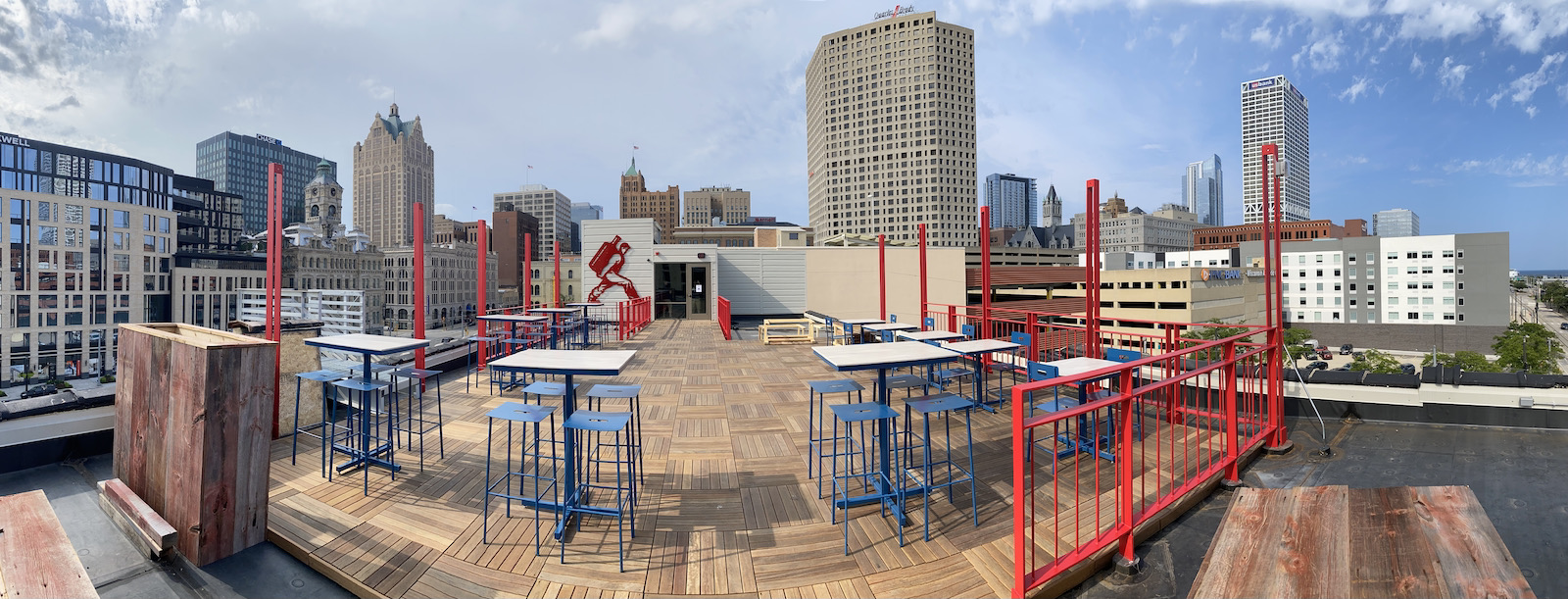 Pano of rooftop