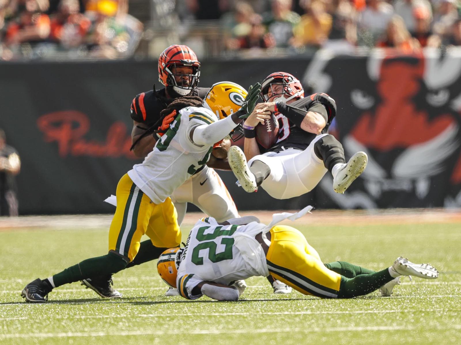Packers versus Bengals