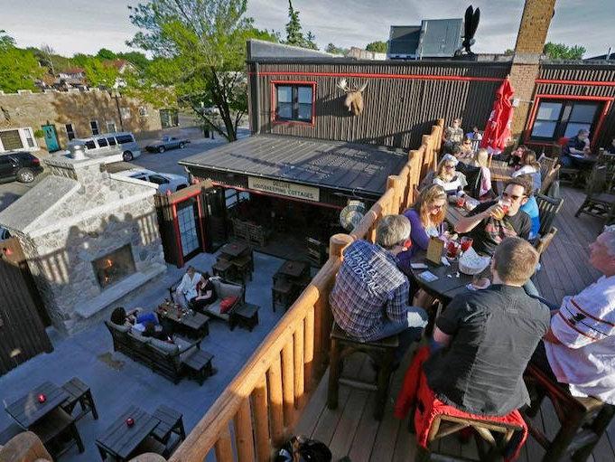 Camp Bar Wauwatosa rooftop patio