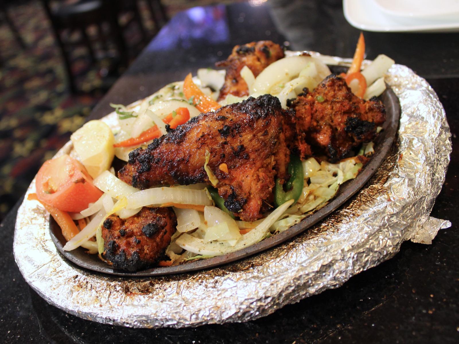 Tandoori wings