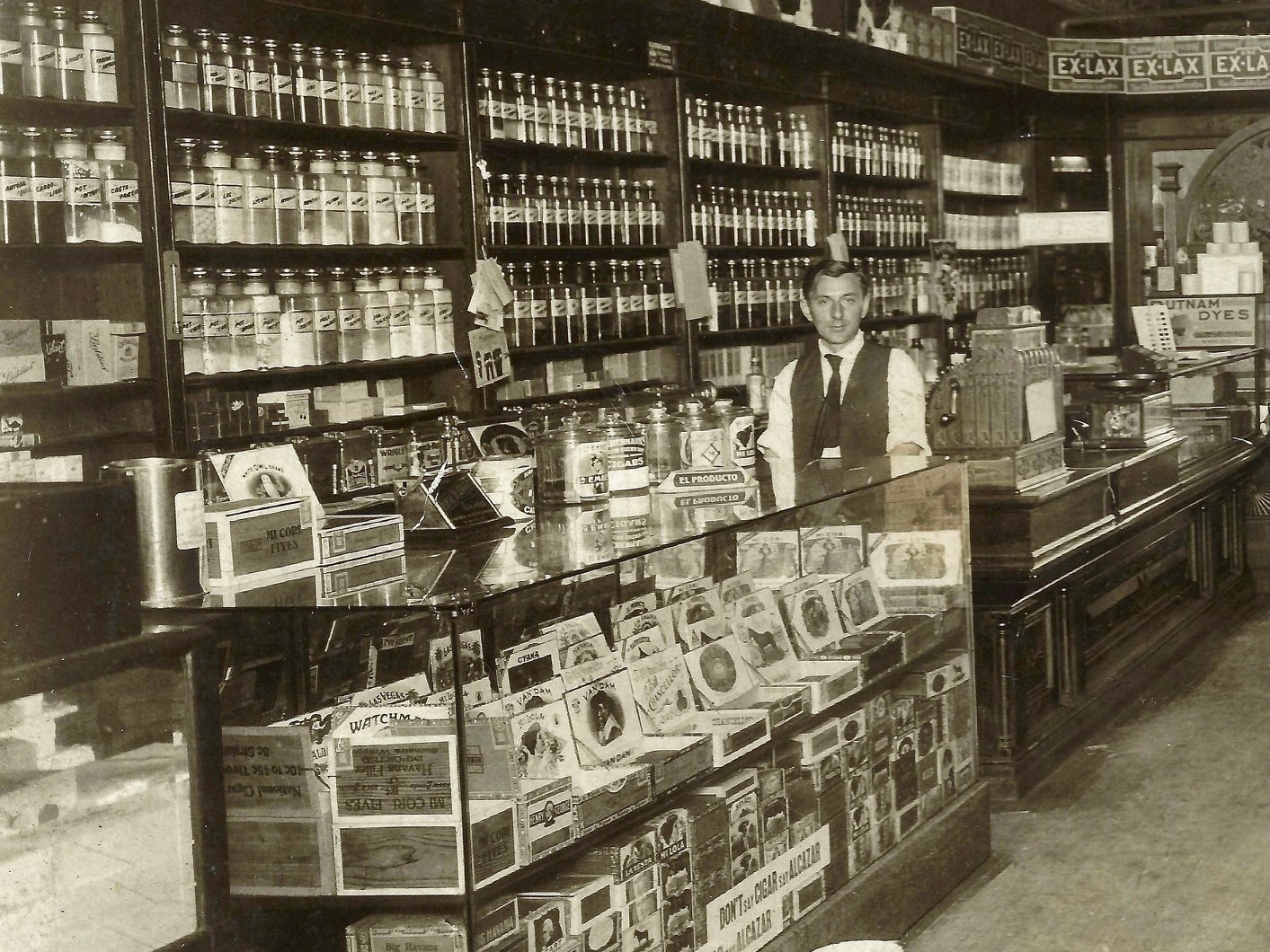 Five O'Clock Club as a pharmacy during Prohibition