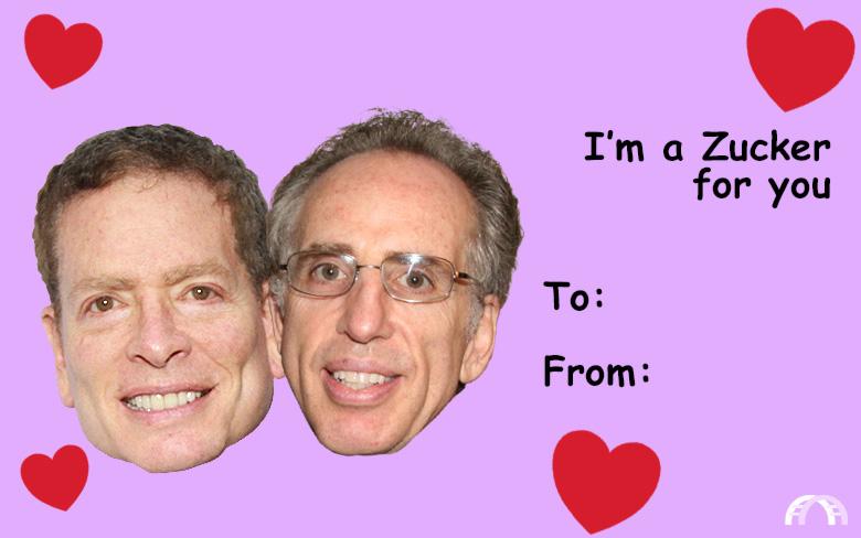I'm a Zucker for you valentine