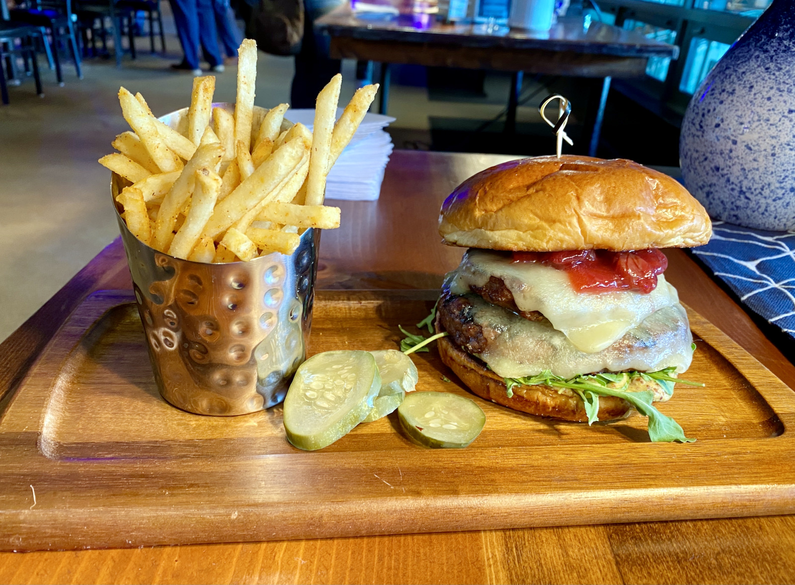 The Double Play Burger