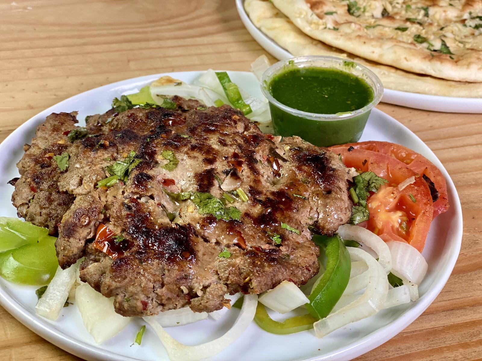 Chapli kebab at Peshawar