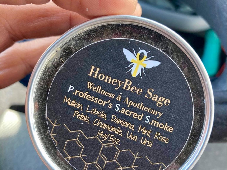 HoneyBee Sage sacred smoke
