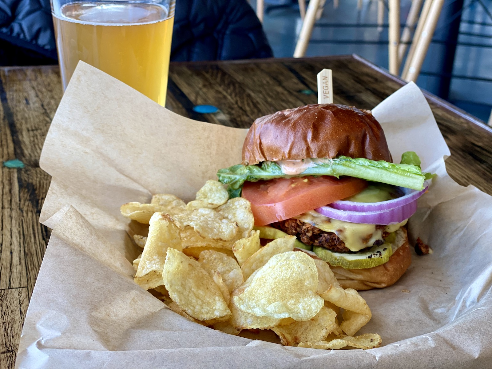 The Classic Burger from Urban Beets
