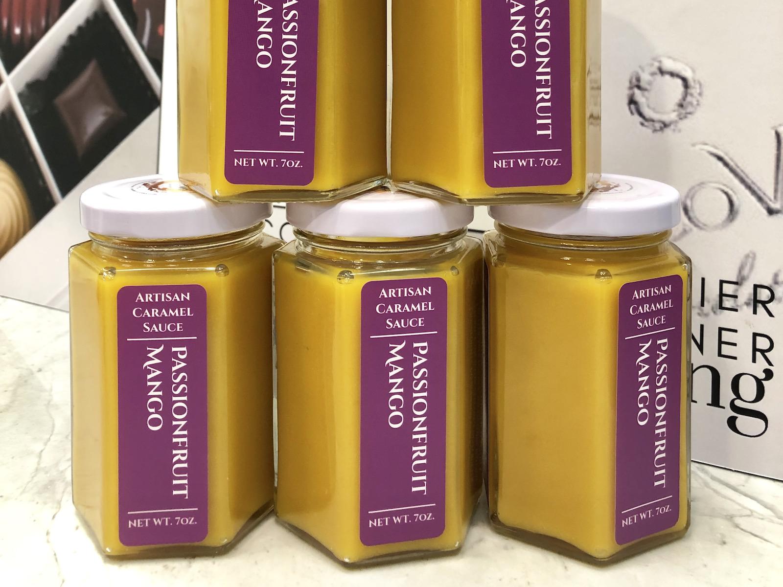 CocoVaa Passionfruit Mango Caramel Sauce