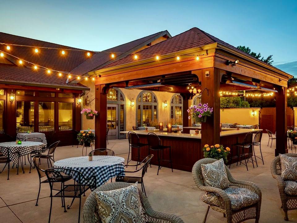 Mr. B's Steakhouse patio