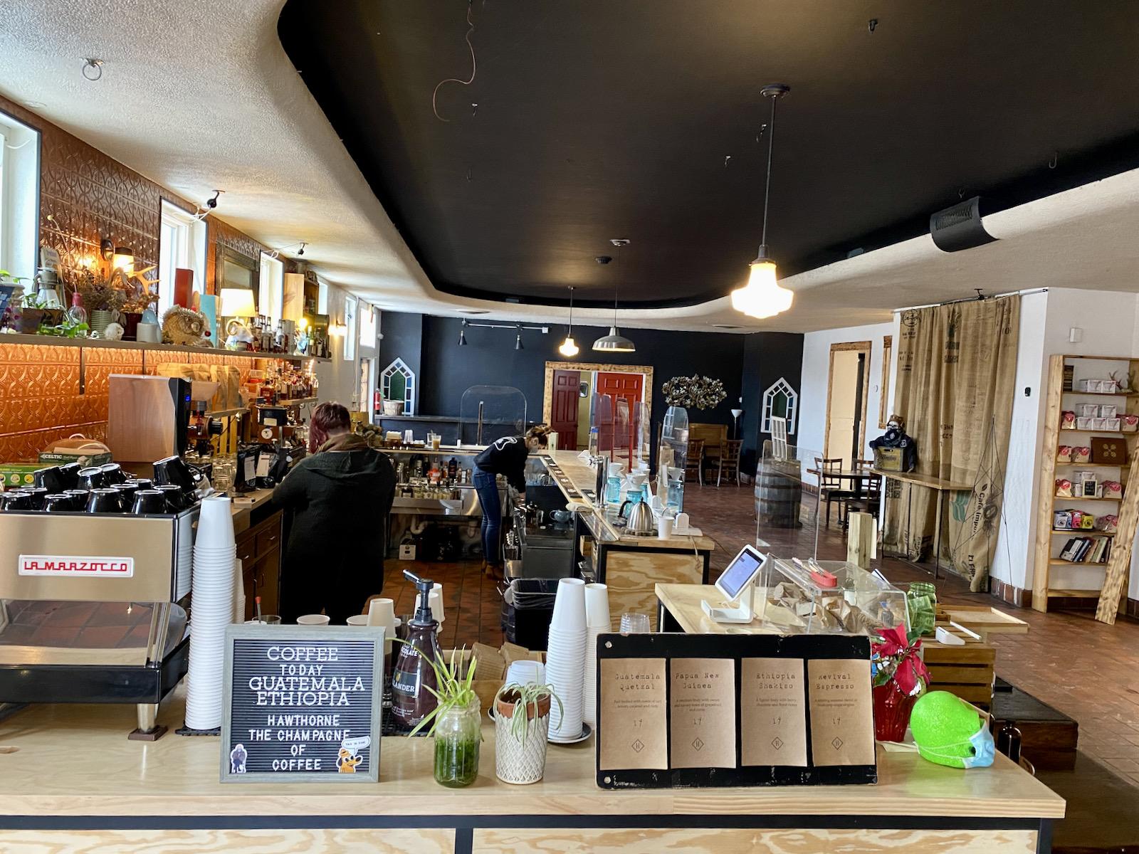 Hawthorne Coffee interior