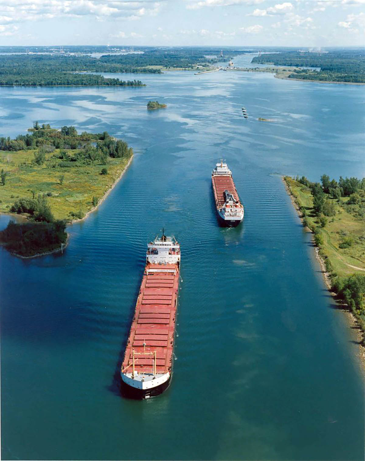 St. Lawrence Seaway.