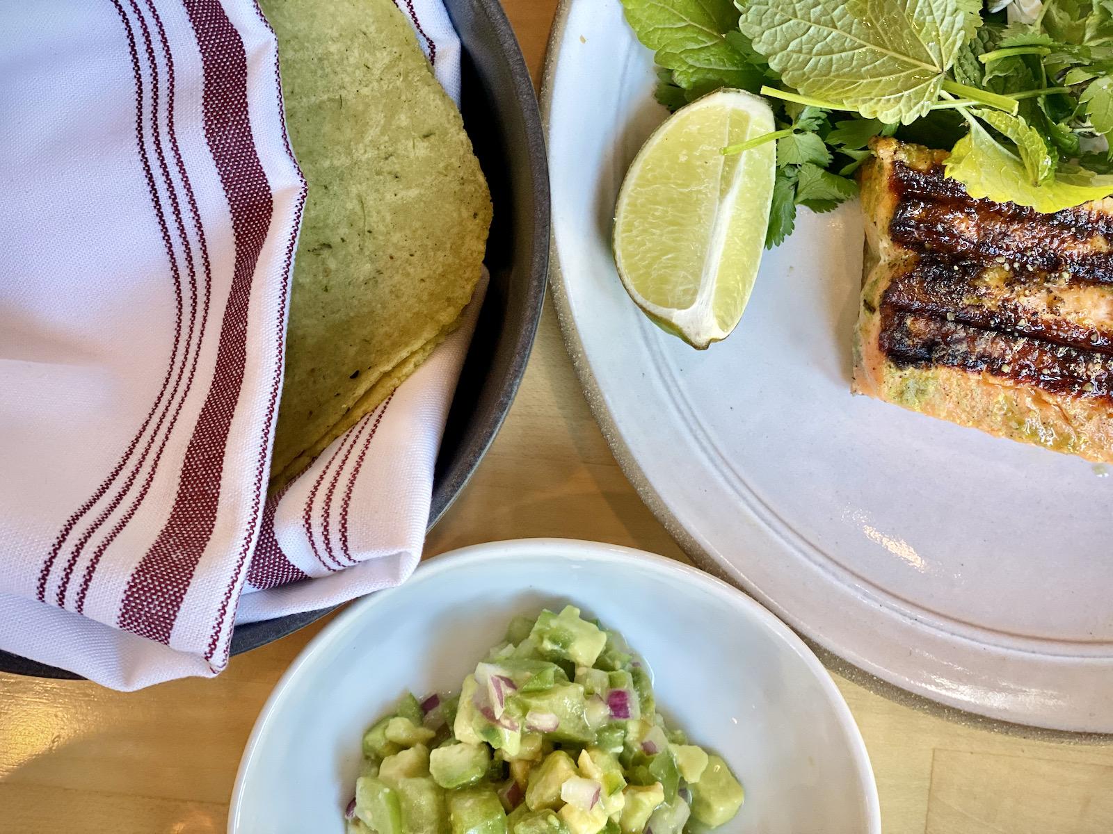 Birch fish tacos