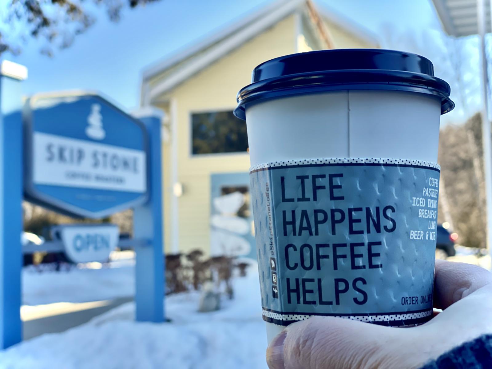 Coffee at Skip Stone