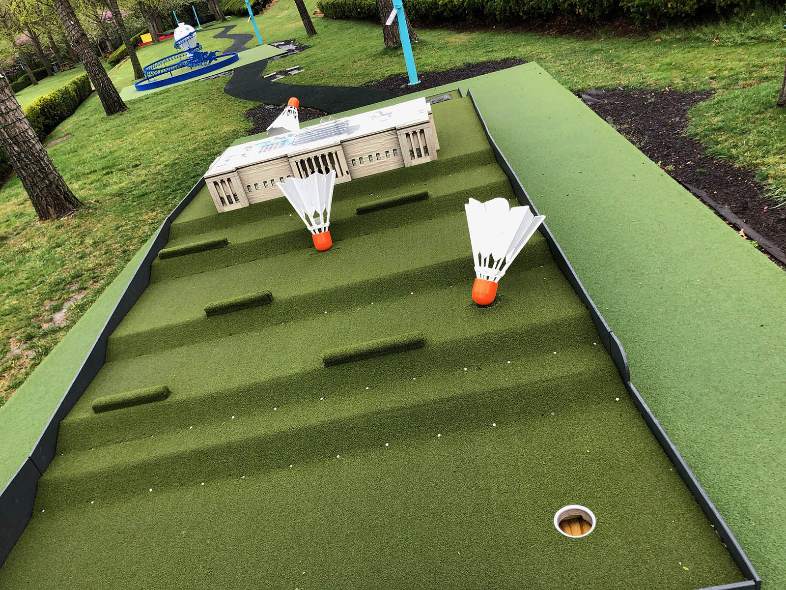 Nelson-Atkins mini golf