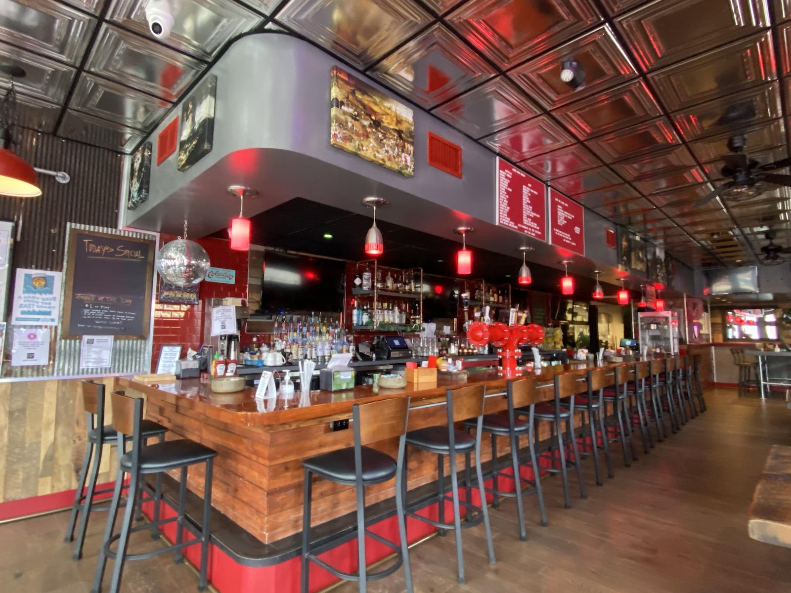 Bar at Drunken Cobra