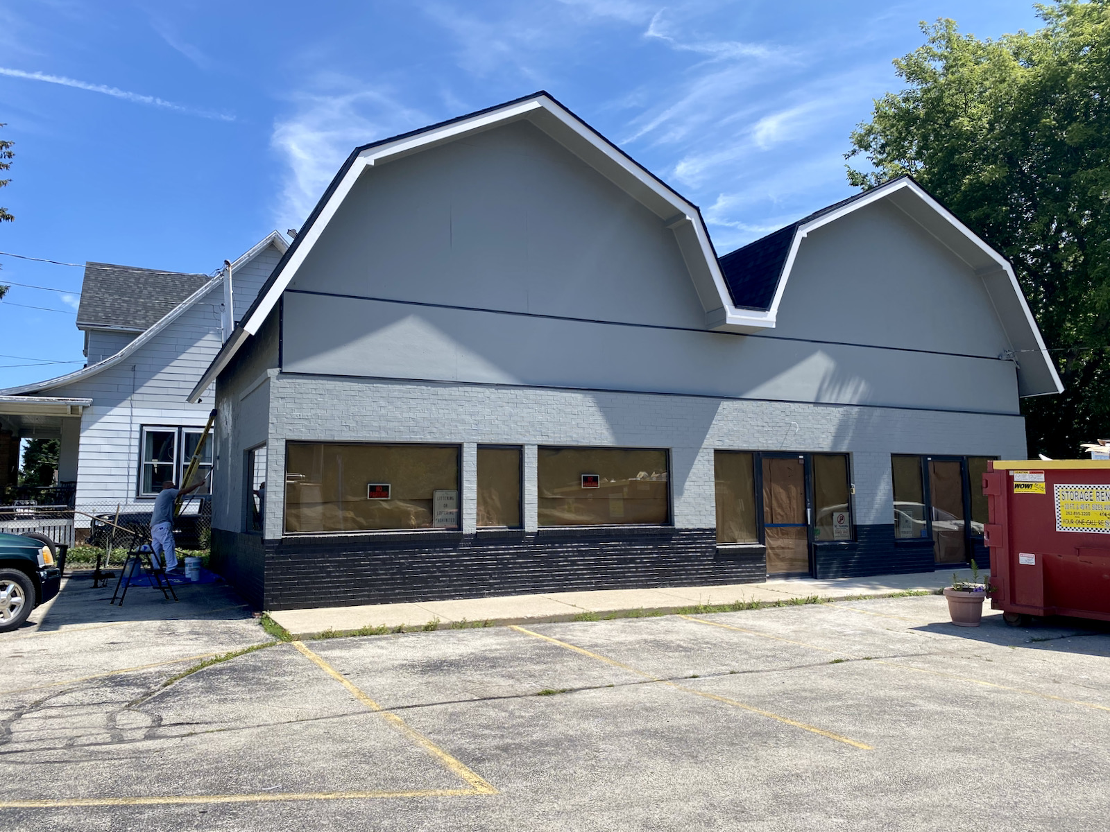 Exterior of forthcoming Better Together Cafe