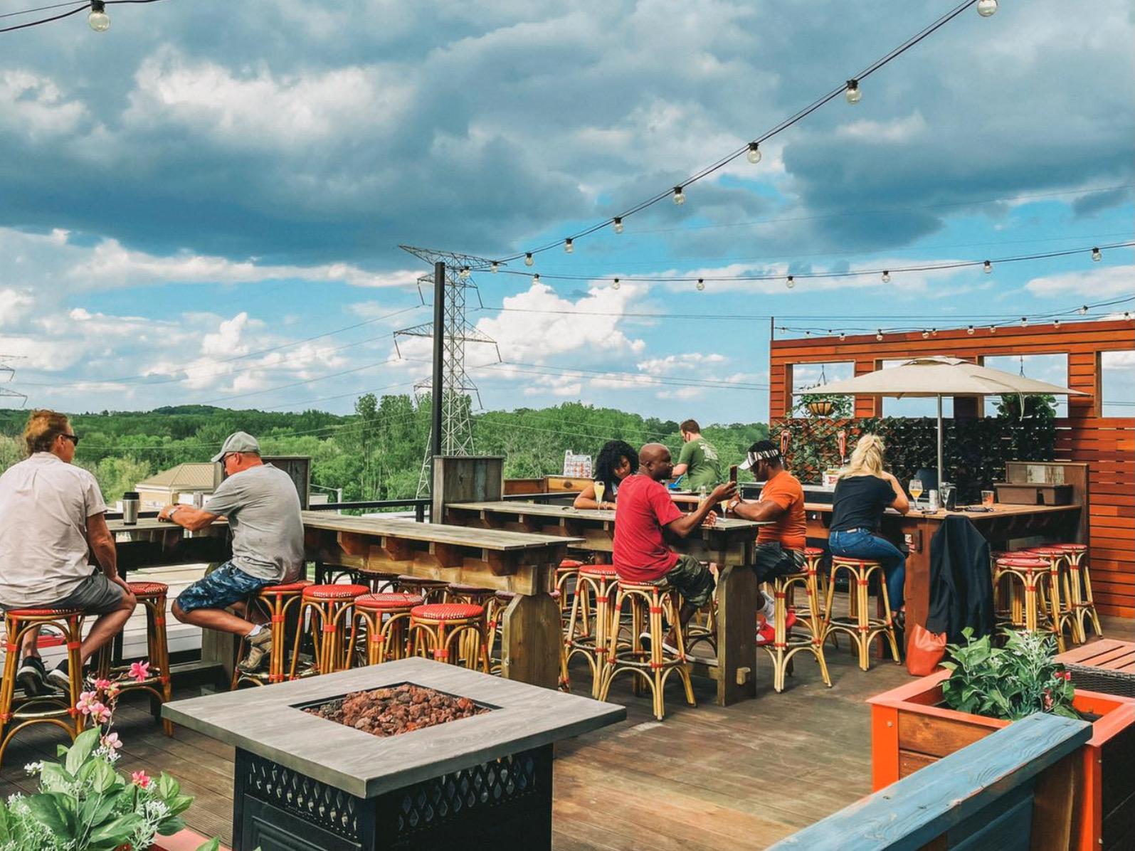 Cafe Hollander Rooftop Brookfield