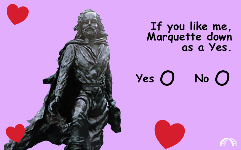 If you like me, Marquette down as a Yes valentine.