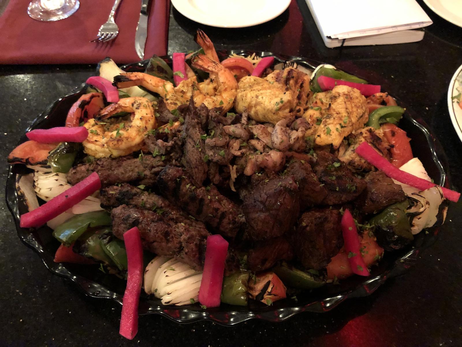 Casablanca meat platter