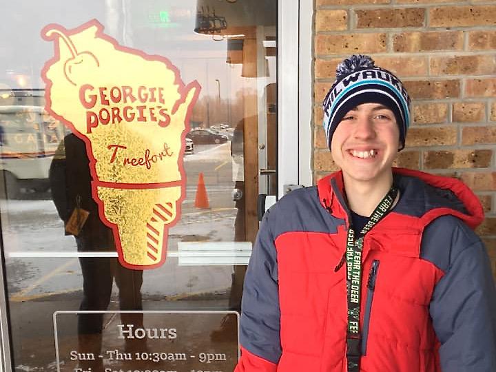 Dominic at Georgie Porgie's