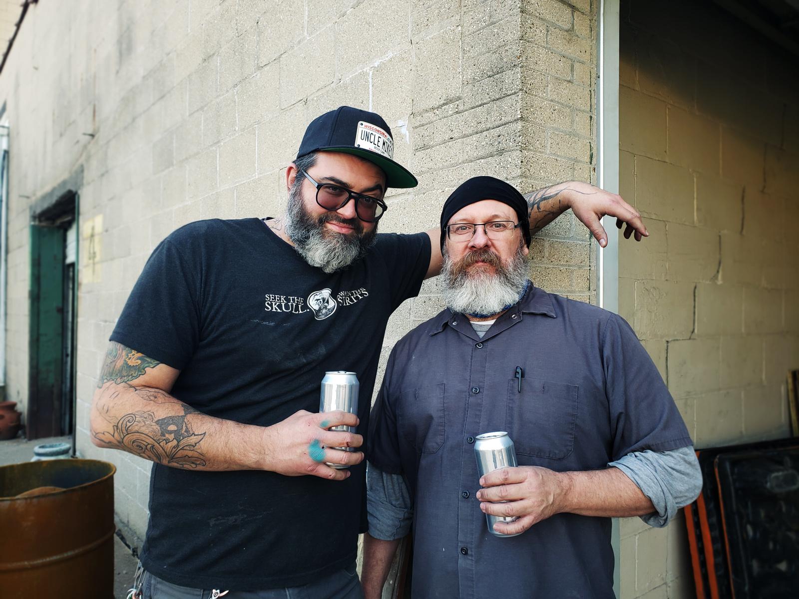 Brandon Minga and Tim Priebe