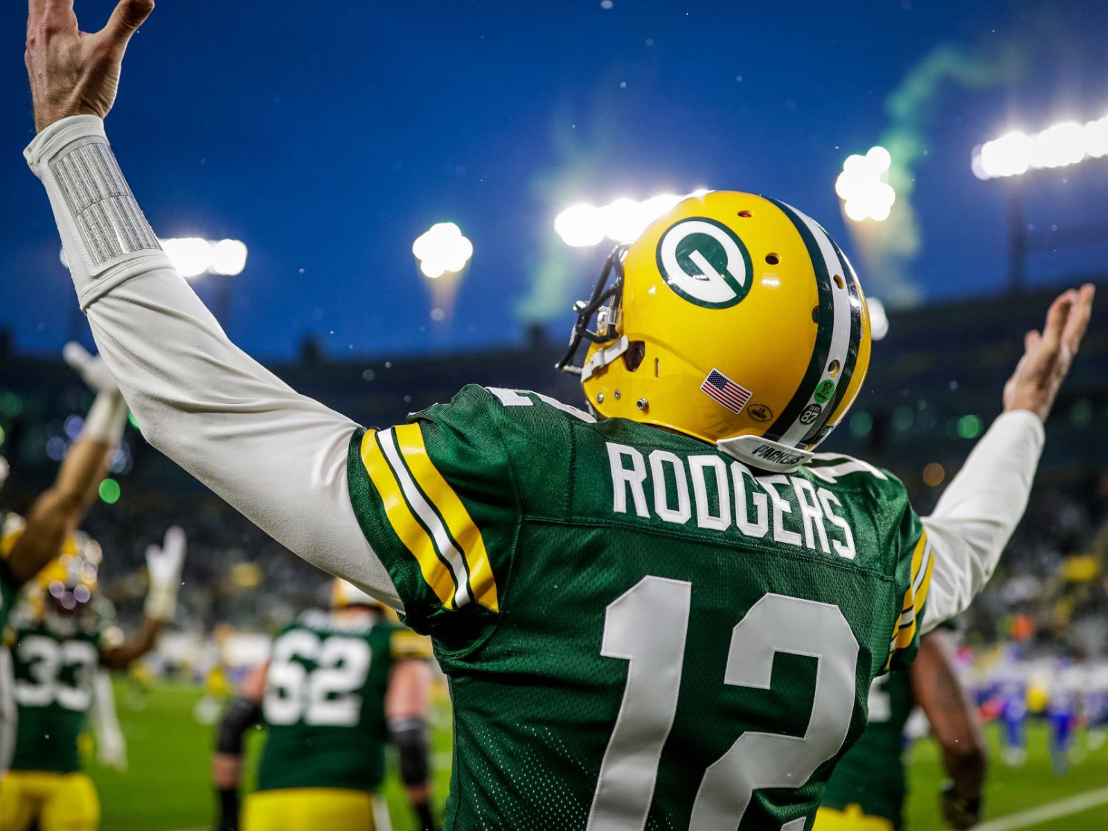 Championship bound: 11 images from the Packers' 32-18 win over the Rams