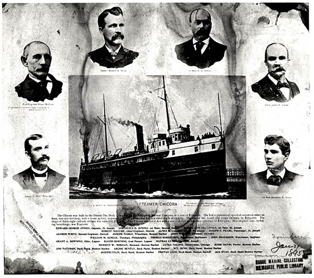 Chicora shipwreck