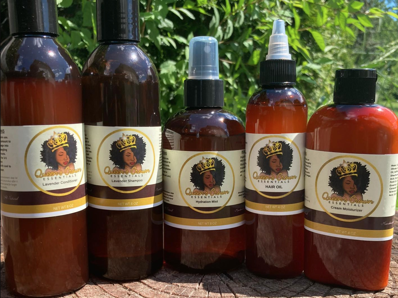 Queens Crown Essentials haircare