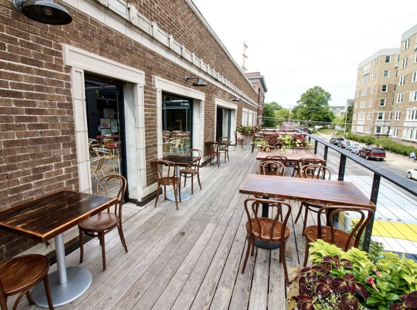 Terrace at Pizza Man on Downer