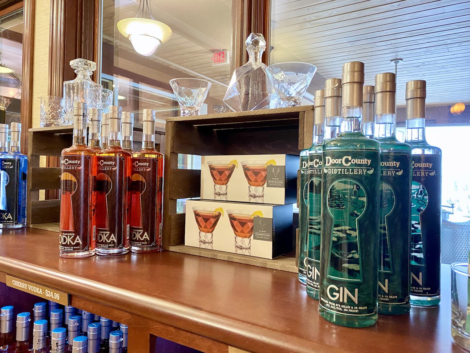Door County Distilling gin