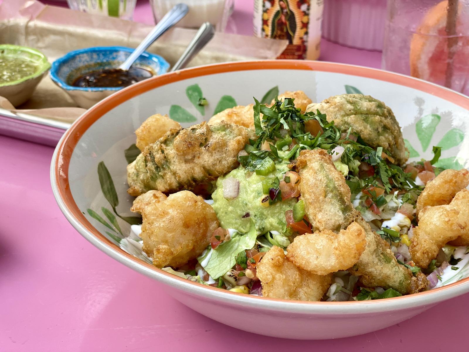 Electric Lime burrito bowl