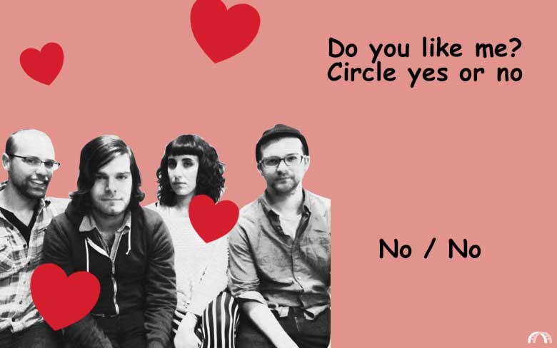 Do you like me? Circle yes or no valentine.