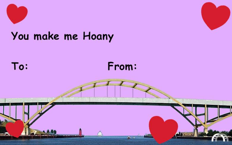 You make me Hoany valentine