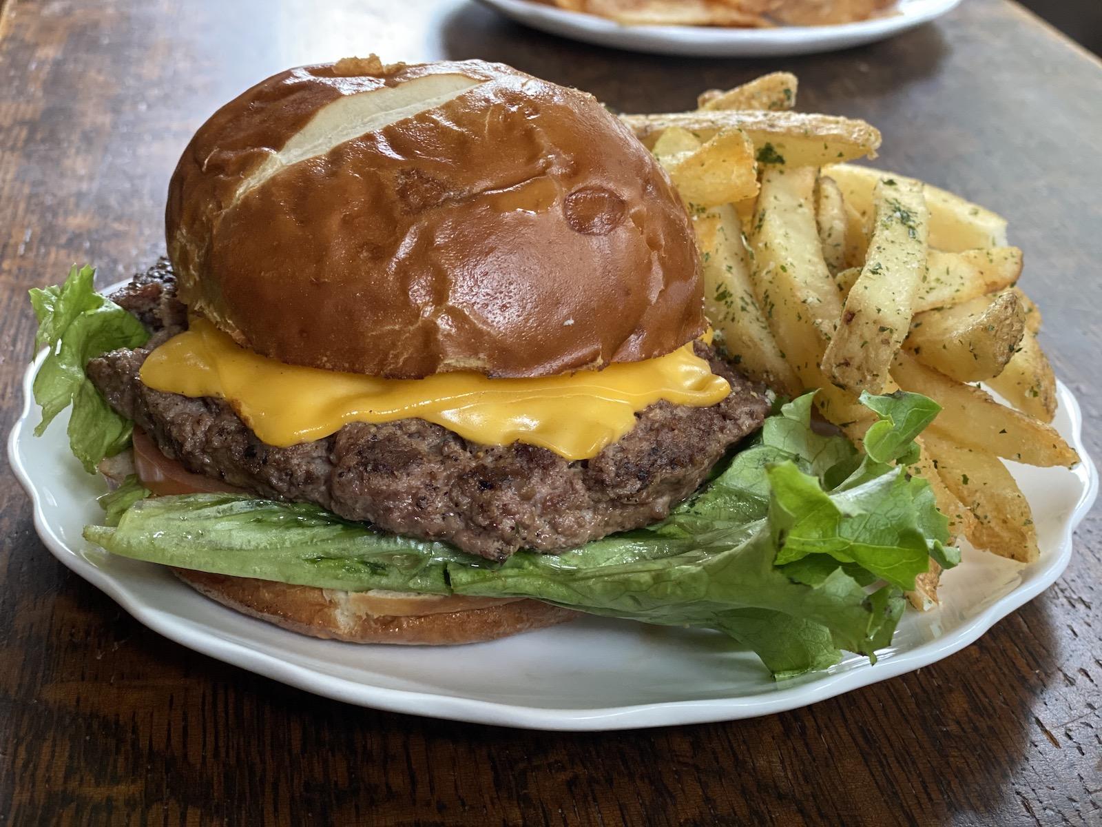 The Brew Burger at The Explorium Brewpub