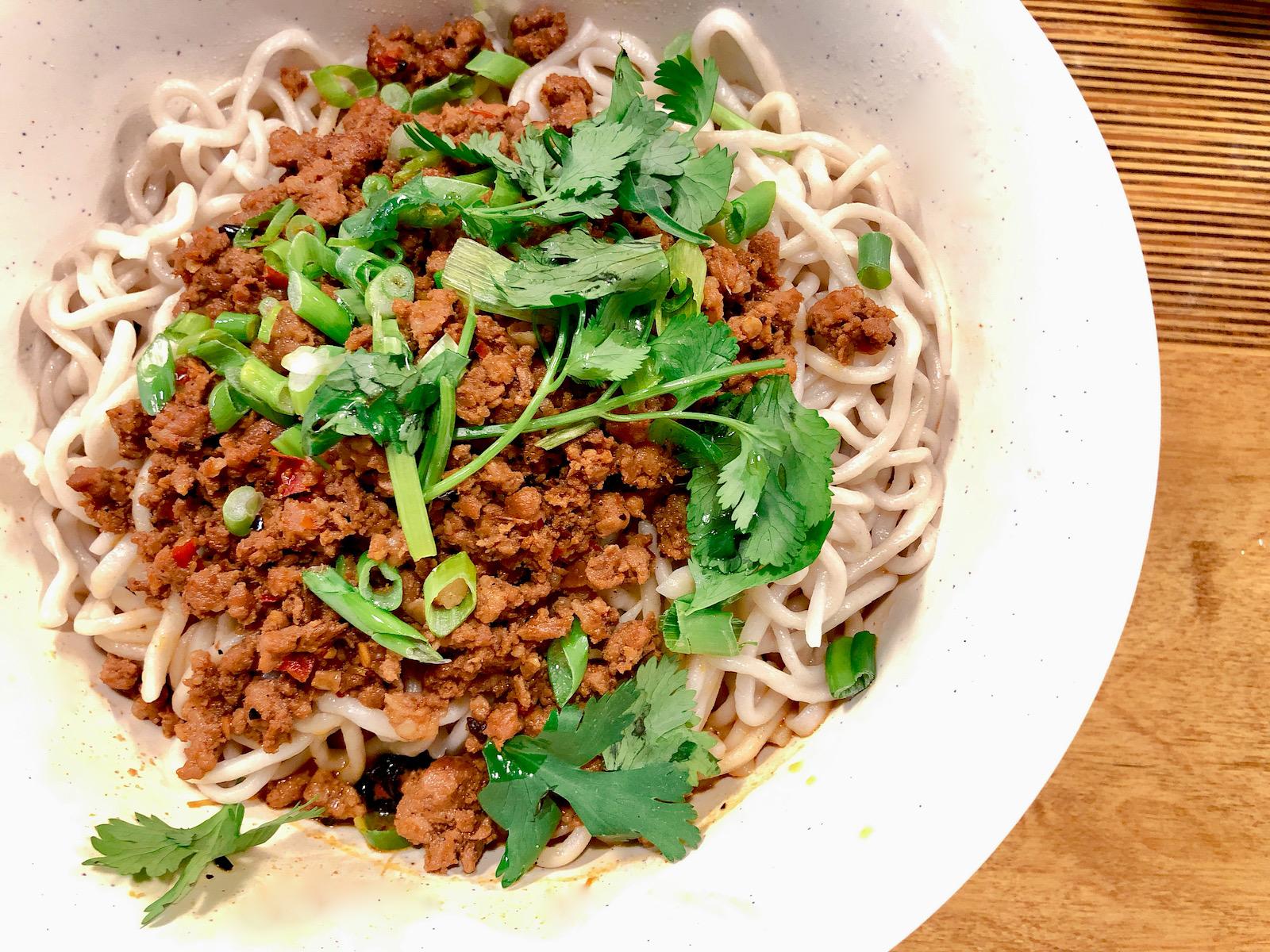 Momo Mee Dandan Noodles