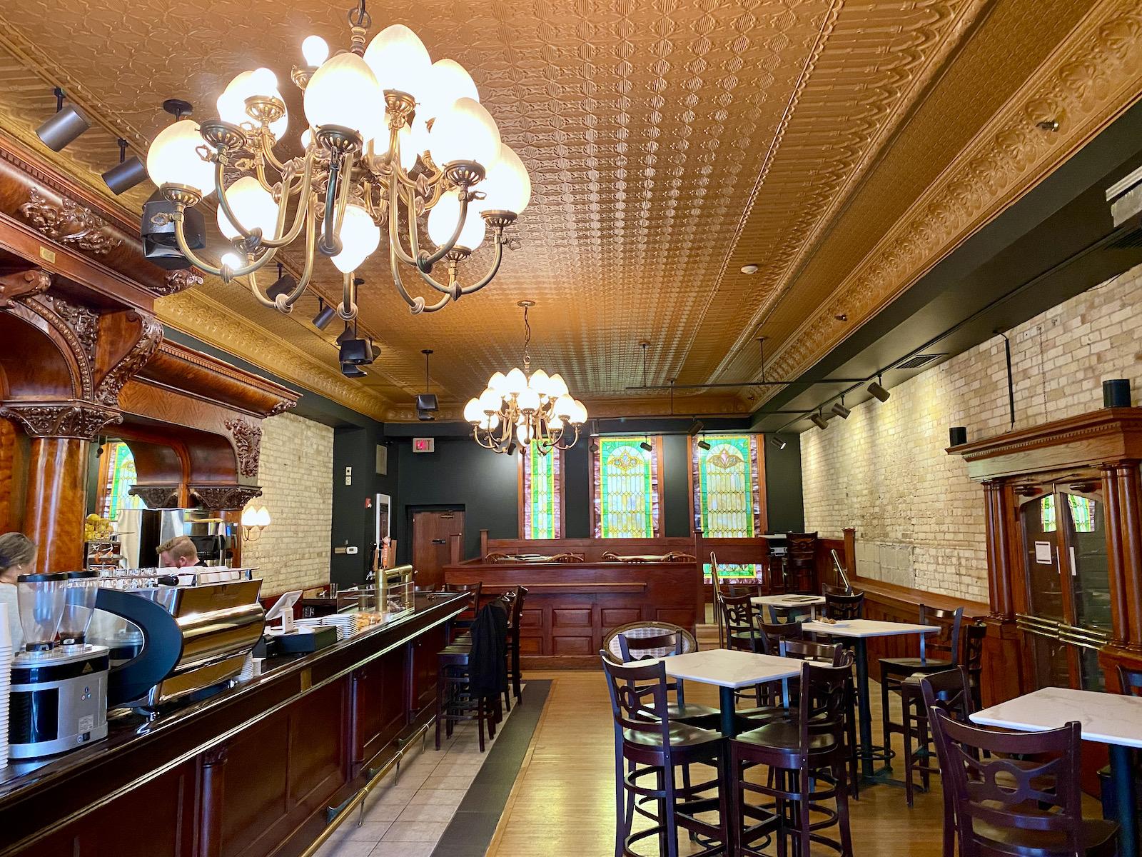 Vendetta Coffee Bar Interior