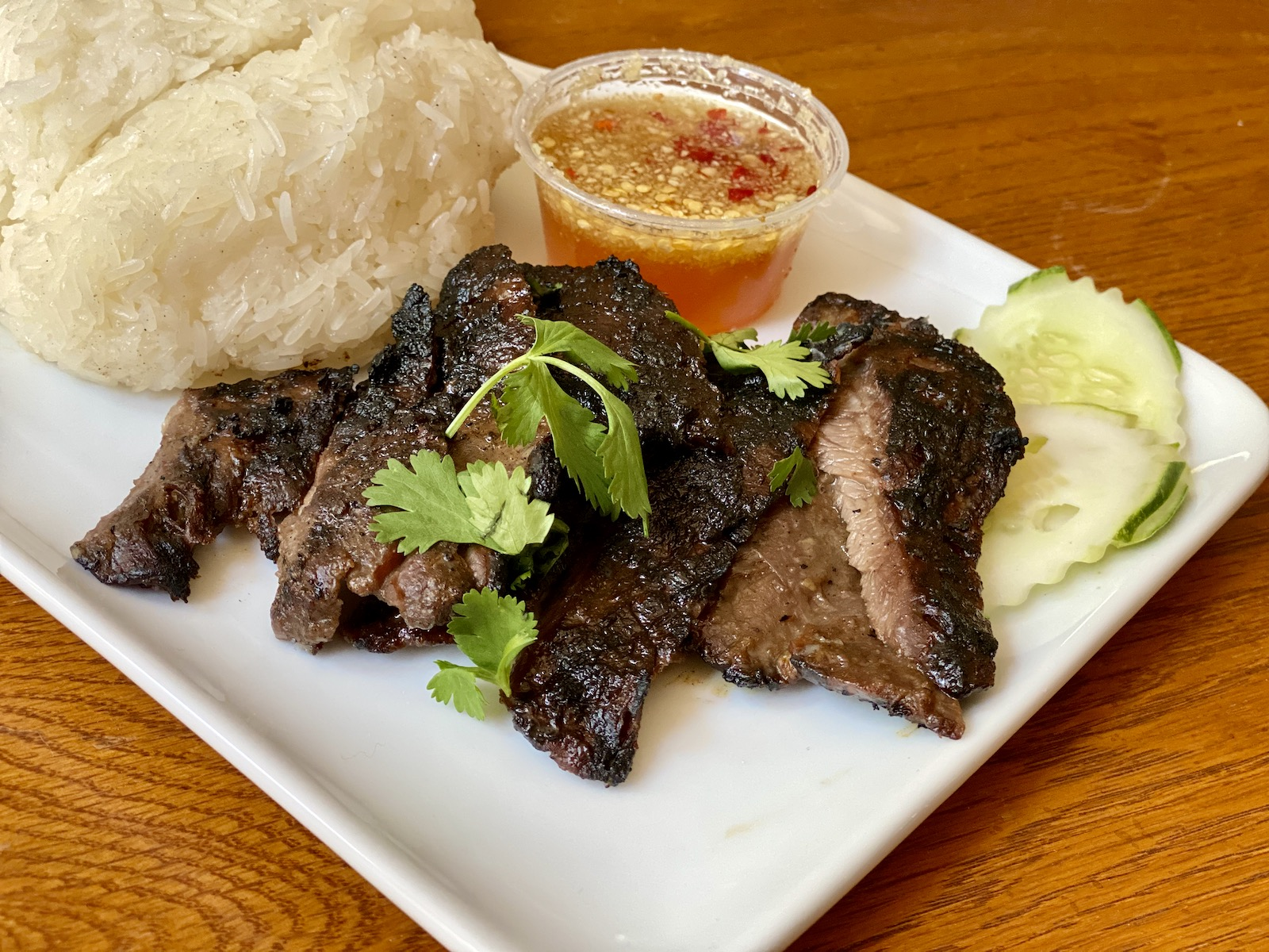 Lao barbequed beef
