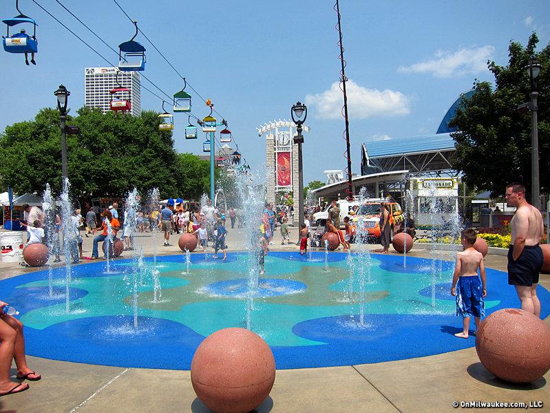 Summerfest fountain